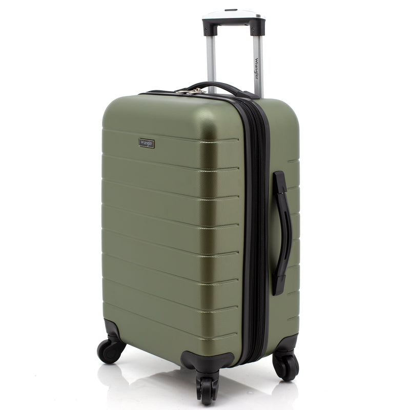 "Wrangler 3-in-1 20"" Rolling Carry-On"