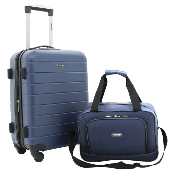 El Dorado Collection, 2-Piece Expandable Rolling Carry-On with 3-in-1 Cup Holder Set