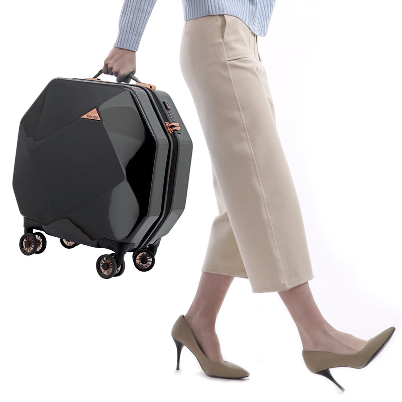 "kensie Gemstone 20"" Dual Spinner Carry-On"