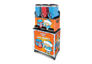 Mobile Trolley Stand For Eskimo Joe's Triple Bowl Slush Machine - Eskimo Joe's Slush United Kingdom - 2