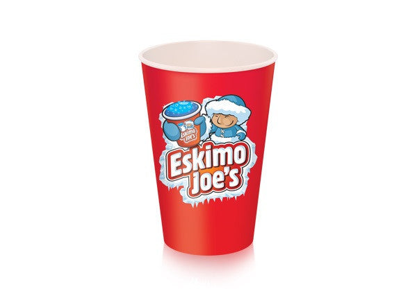 Medium 341ml Paper Slush Cups - 1000 Box - Eskimo Joe's Slush United Kingdom - 3