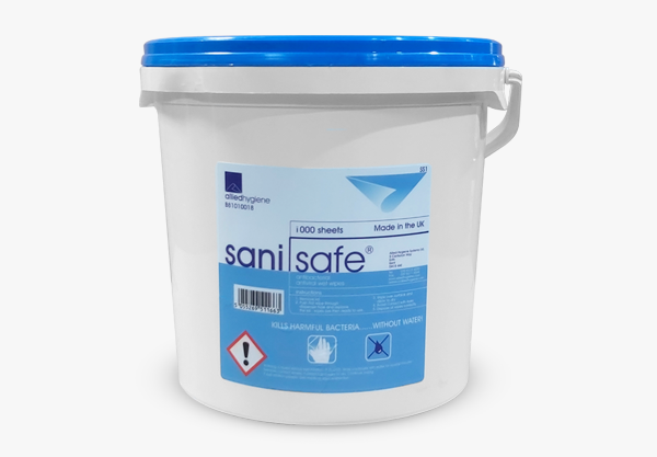 Sani Safe Hygiene Wipes - 1000
