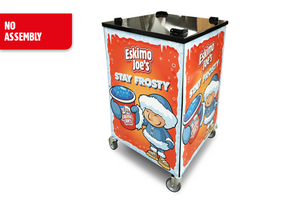Mobile Trolley Stand For Eskimo Joe's Twin Bowl Slush Machine - Eskimo Joe's Slush United Kingdom - 3