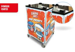 Mobile Trolley Stand For Eskimo Joe's Twin Bowl Slush Machine - Eskimo Joe's Slush United Kingdom - 4