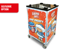 Mobile Trolley Stand For Eskimo Joe's Twin Bowl Slush Machine - Eskimo Joe's Slush United Kingdom - 5