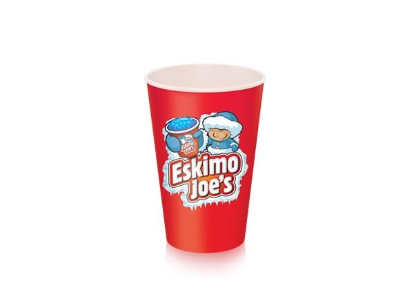 Small 230ml Paper Slush Cups - 1000 Box - Eskimo Joe's Slush United Kingdom - 2