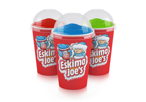 Dome Lids For Medium Slush Paper Cups - 1000 Box - Eskimo Joe's Slush United Kingdom - 3