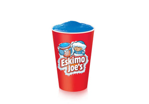 Kleine 230ml Slush Ice Pappbecher - 1000er Box