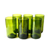 Tall Green Water Glasses - Wholesale Order