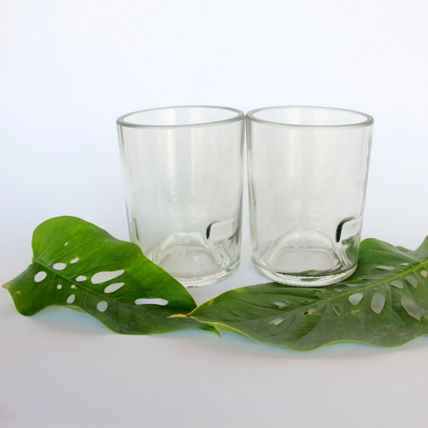 Handmade Whiskey, Cocktail, Beer Glasses - 2 Pack