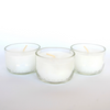 Handcrafted Small Candles - Set of 3