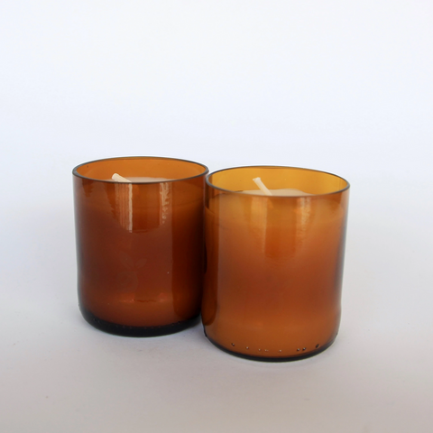 Handcrafted Medium Candles - Set of 2