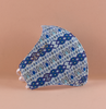 Adult Face Mask - Blue Diamonds Huipil Print (5-50 pack)