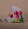 Adult Face Mask - Summer Tulips Print (5-50 pack)