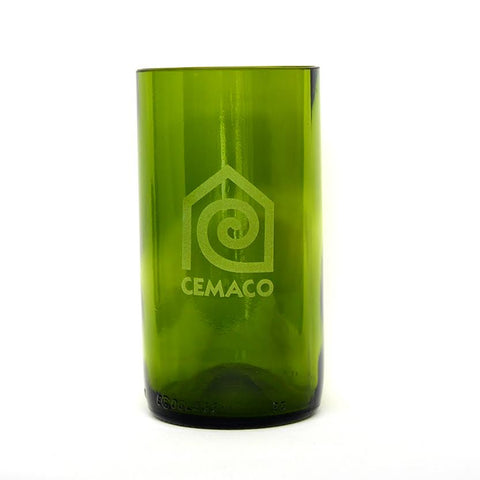 Tall Green Water Glasses - Customized Wholesale Order