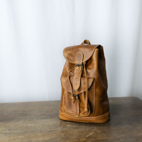 Unisex Caminos S Leather Backpack