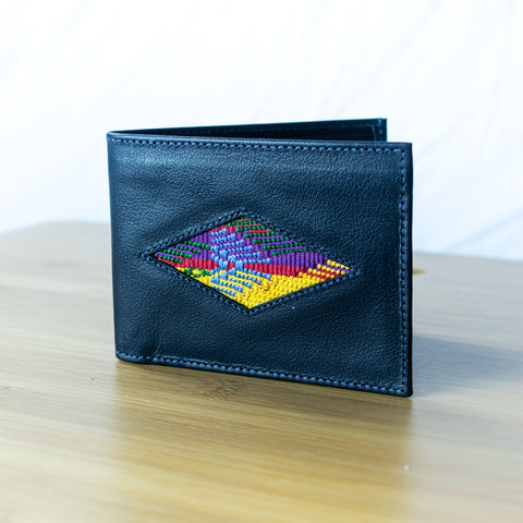 Tipico Wallet Navy Blue Leather