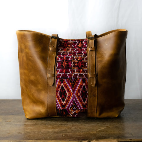 Iximche Tote Bag | Light Brown