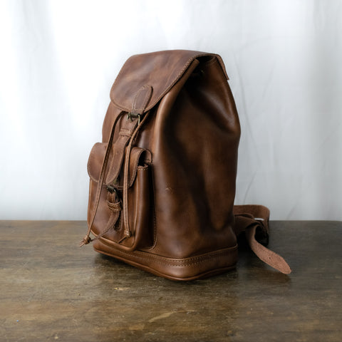 Unisex M Caminos Leather Backpack