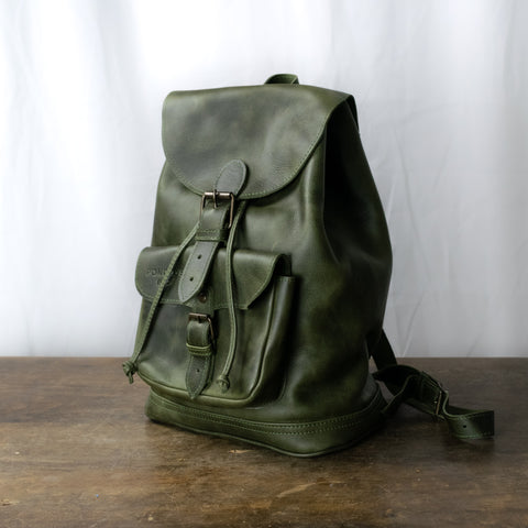 Unisex L Caminos Leather Backpack