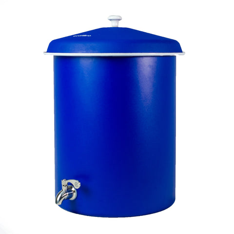 Mate Royal Blue Pewter EcoFiltro