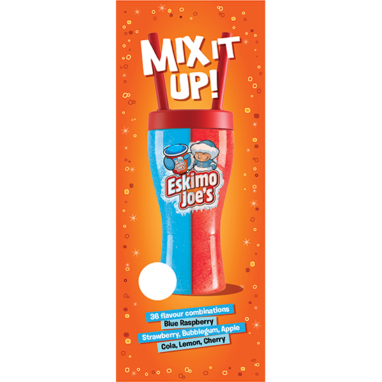 Eskimo Joe's Share Cup Point of Sale-pakket