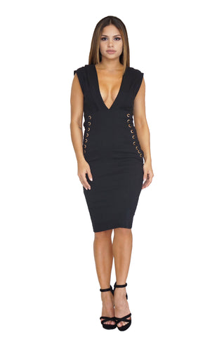 Lorraine Lace Side Dress