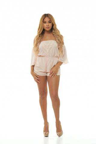 Camilla Off The Shoulder Romper