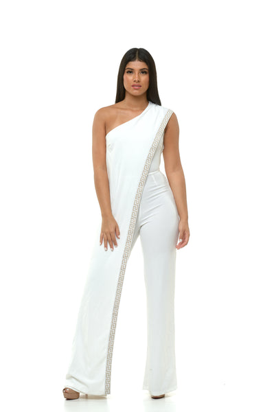 Lita Jumpsuit - White
