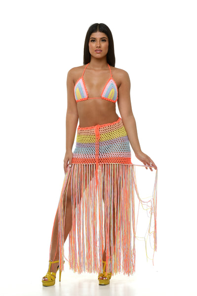 Cynthia Swimsuit Coverup Set