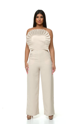 Nuri Pleated Jumpsuit