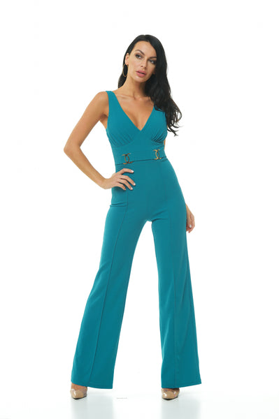Chanel V-Neck Jumpsuit