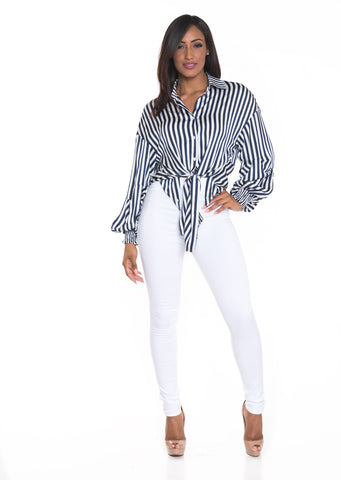Shanique Stripe Top (EXCLUSIVELY ONLINE)