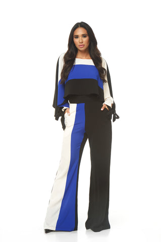 Thea Tri Color Jumpsuit