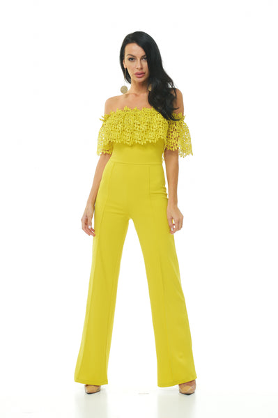 Catriona Off Shoulder Jumpsuit