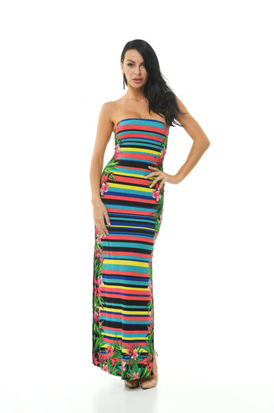 Bora Bora Tube Maxi Dress