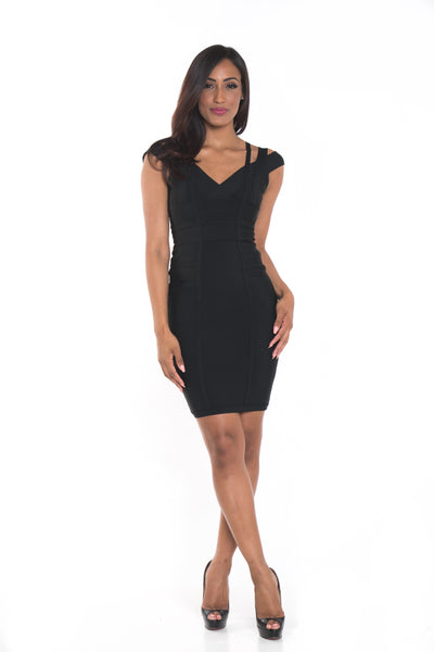 Shiyla Bandage Dress
