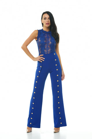 Stacy Lace Jumpsuit