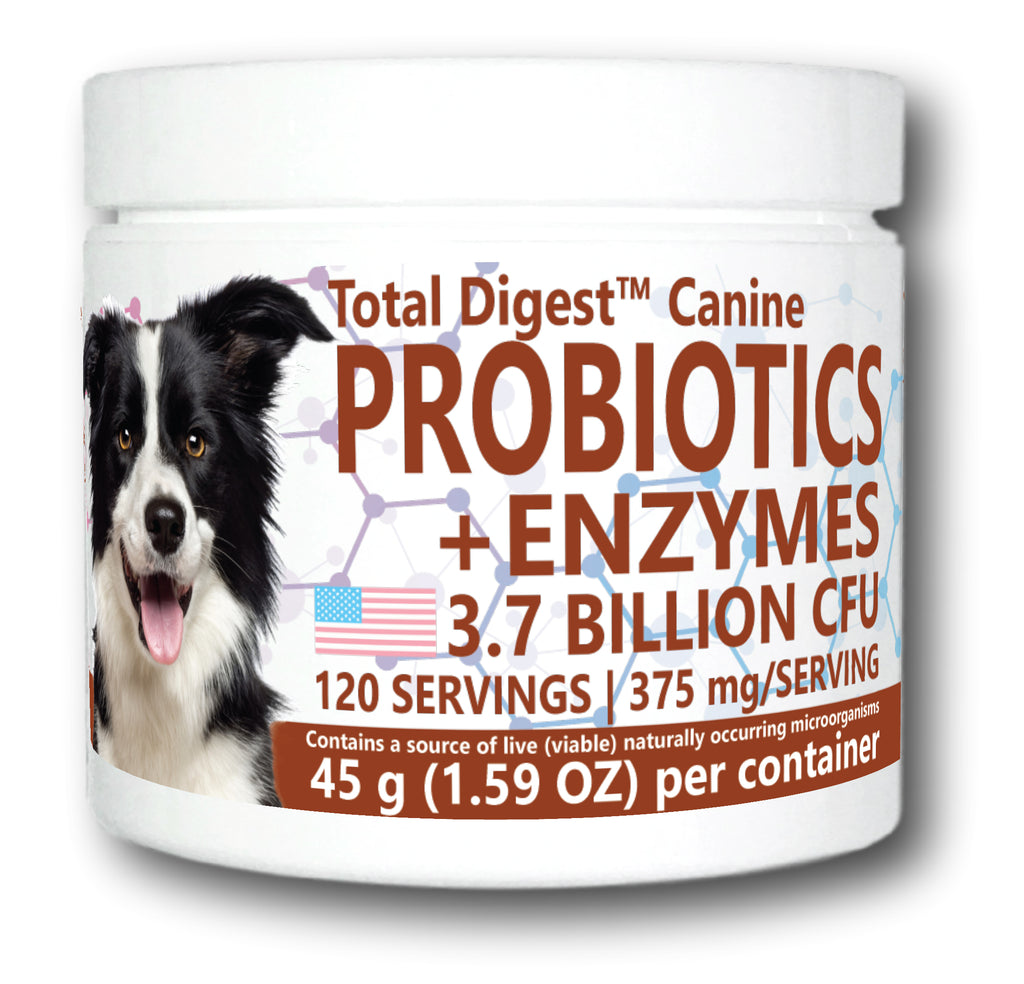 Total Digest Canine™ Probiotics and Enzymes