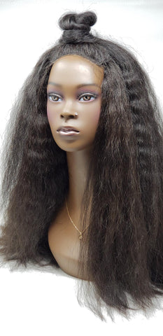 Kinky Straight- Loose/Braiding- Auburn/Blends- Per bundle (4oz)