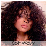Soft Wavy- Wefted/Tracked- Basic Colors- Per oz