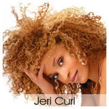 Jeri Curl- Wefted/Tracked- Auburn/Blends- Per bundle (4oz)