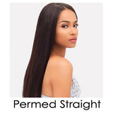 Perm Straight- Wefted/Tracked- Basic Colors- Per bundle (4oz)
