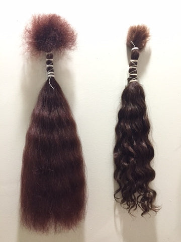 Soft Wavy- Loose/Braiding- Auburns/Blends- Per oz