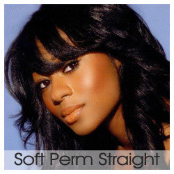 Soft Perm Straight- Wefted/Tracked- Auburns/Blends- Per oz