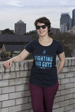 Fighting Bad Guys Tee - Women's