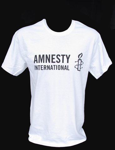 Amnesty International white t-shirt