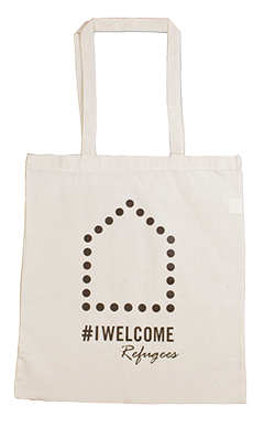 #IWELCOME Refugees Calico Tote Bag