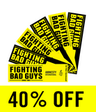 Fighting Bad Guys Stickers