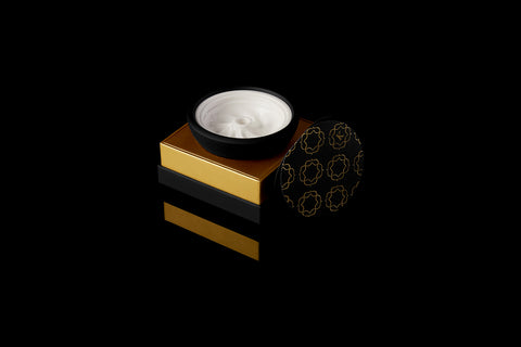 Krysalis Edition Kaloud Samsaris Lapis Black Silicone White Ceramic Bowl for Lotus II